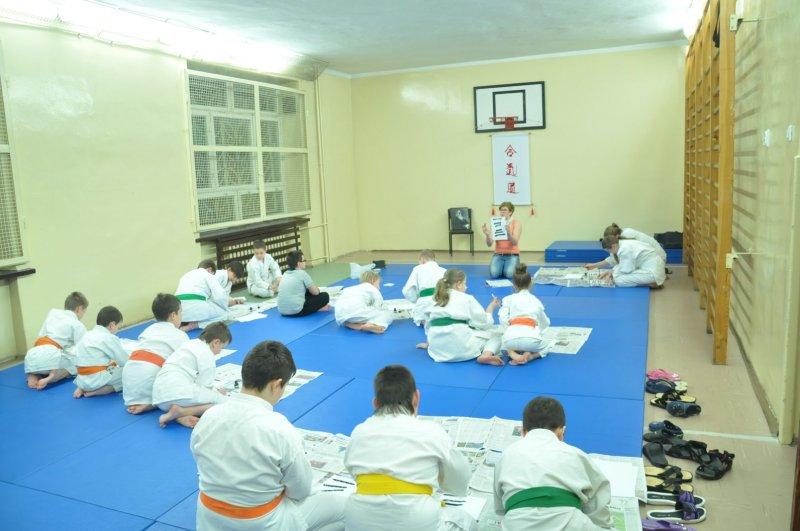2014-02-07 Trening z pismem japońskim 001.JPG